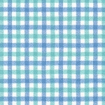 Tri-Tone Gingham in Seaglass | Flannel